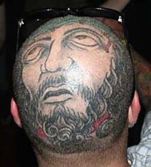 jesus-head-tattoo