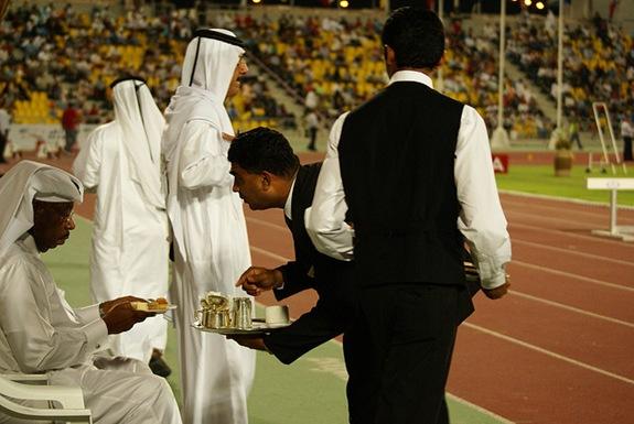 Dinner in Qatar